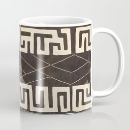 Kuba Congo Central African Wraparound Skirt Print 2 Coffee Mug