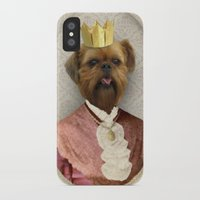 brussels iPhone & iPod Cases featuring Queen of Brussels by The Lonely Pixel