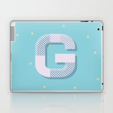 G is for Glamorous Laptop & iPad Skin