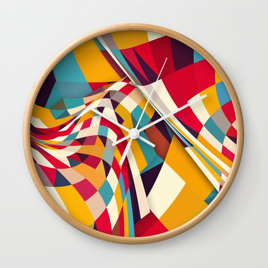 Nazca Wall Clock