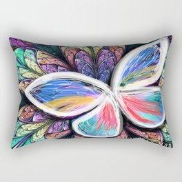Tanscending Butterfly Rectangular Pillow
