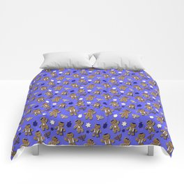 Hanukkah Gingerbread Comforters