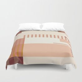 Fall Nudes Duvet Cover