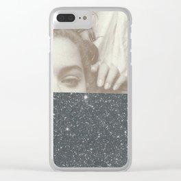 Polvo de estrellas Clear iPhone Case