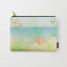 Dreamy Summer Beach Flowers Carry-All Pouch