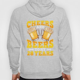 Funny Beer T-Shirt 28th Birthday For Beer Lover Gift Hoody