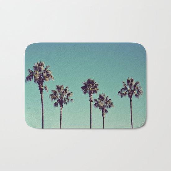 California Palm Trees Bath Mat