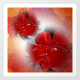 Les fleurs de la mathématique -5- Art Print
