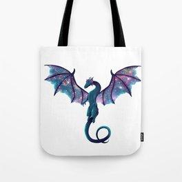 Galaxy Dragon Tote Bag