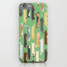 Dogalogs (grass version) iPhone 6s Slim Case