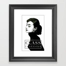 Class in Session Framed Art Print