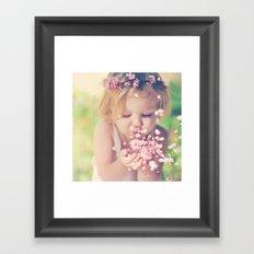 Spring Love Framed Art Print