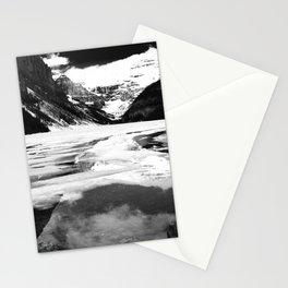 Lake Louise Victoria Glacier Alberta Canada Stationery Cards