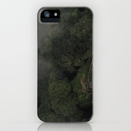 Jungle Mountain Viewpoint iPhone Case