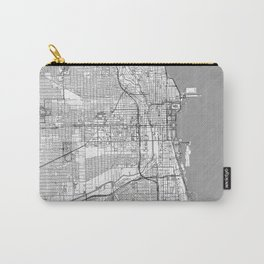 Chicago Map Line Carry-All Pouch