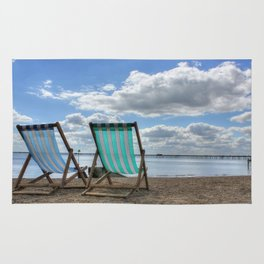 Deck Chairs HDR Rug