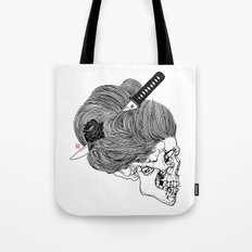 A Lady From Japan Tote Bag