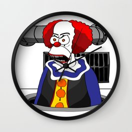 Pennycrust the Clown Wall Clock