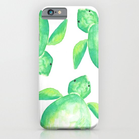 Watercolor Sea Turtle iPhone & iPod Case