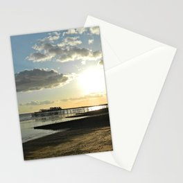 Sunset destruction Stationery Cards
