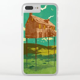RIVER HOUSE Clear iPhone Case