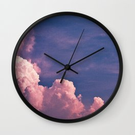 Clouds 22 Wall Clock