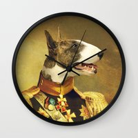 general Wall Clocks featuring General Bully by Bakus