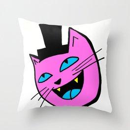 Herro Cat Throw Pillow