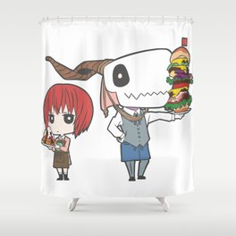 The Ancient Magus' Bride Shower Curtain