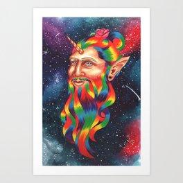 Manicorn Art Print