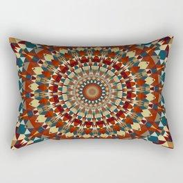 Playful Goemetry Mandala Rectangular Pillow