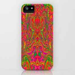 Psychedelic Spill 10 iPhone Case