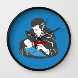 The Curious Case of a Baby Vampire Wall Clock