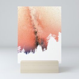 White pine trees Mini Art Print