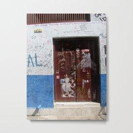 Cuban Street Art Metal Print