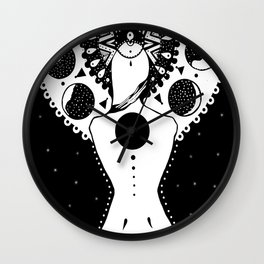 The phases of the moon Wall Clock