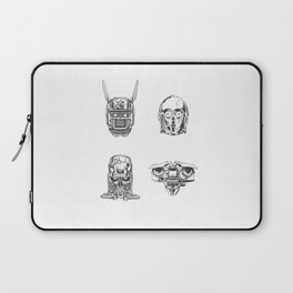 Robots Illustration Laptop Sleeve