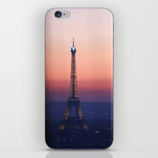 Eiffel Tour. Paris. Love. iPhone & iPod Skin