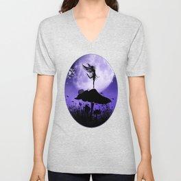 Fairy Silhouette 2 Unisex V-Neck
