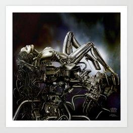 DOLLS - Motorgasm Art Print