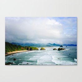 View from Ecola State Park, Cannon Beach, Oregon Canvas Print