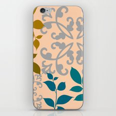 Leaves And Scrolls iPhone & iPod Skin