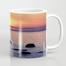 Summer's Glow and the Circle of Rocks Coffee Mug