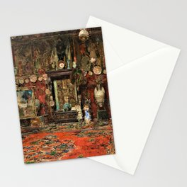 Mariano Fortuny's Studio In Rome - Digital Remastered Edition Stationery Cards