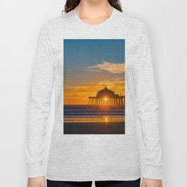 Southside Seagull at Sunset Long Sleeve T-shirt
