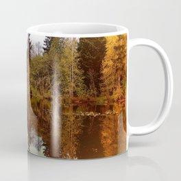 Mirror Pond, Perfect Stillness At Sunset Coffee Mug