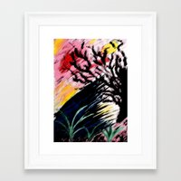 philosophy Framed Art Prints featuring Philosophy by Jessica Nicole Pacheco