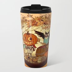 Fall Folklore Metal Travel Mug