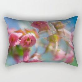 Sunday Spin over blue sky Rectangular Pillow