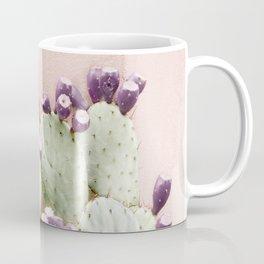 Cactus Against Stucco Wall Coffee Mug